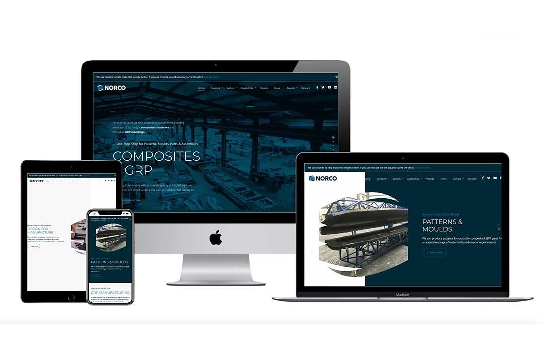 Manufacturing Web Design - Poole Dorset
